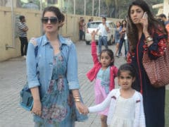 Twinkle Khanna, Sussanne Khan, Shilpa Shetty Spend Sunday With Kids