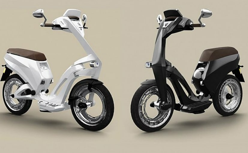The Ujet Smart Scooter's electric motor incorporates 3 riding modes - Eco, Normal and Sport