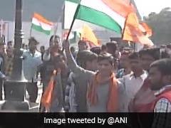 """At Agra's Tiranga Rally, Vishwa Hindu Parishad Says Message To """"Traitors"""""""