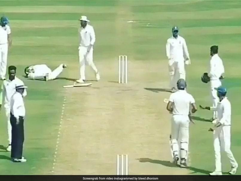 Ranji Trophy: Vidarbha Batsman, Hit By Bouncer, Lies In Pain As Delhi Players Walk Past Him
