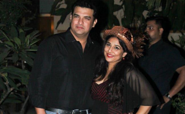 Pics From Vidya Balan's Birthday Party
