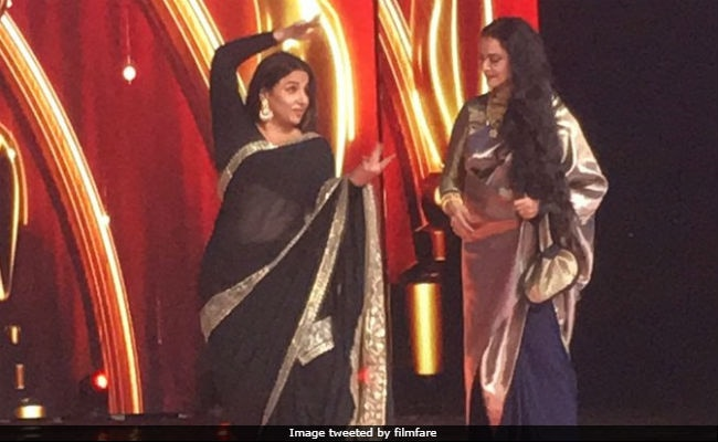 Filmfare Awards 2018: From Vidya Balan's Dance To Akshay Kumar's Rocking Entry, 7 Best Moments