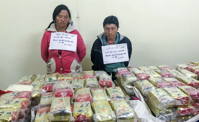 Vietnam Cops Seize $3 Million Heroin Hidden In Tea Packets