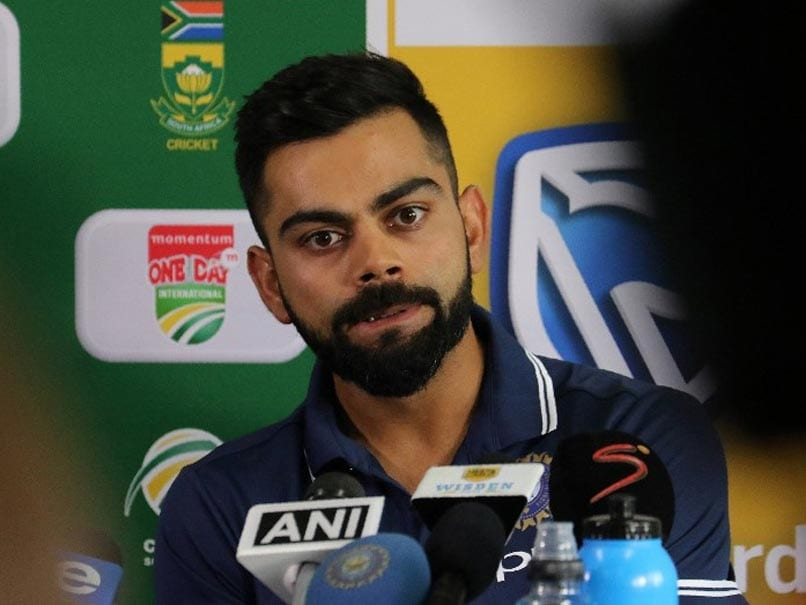 Barring No.4 Slot, Core Team More Or Less Sorted For World Cup, Says Virat Kohli