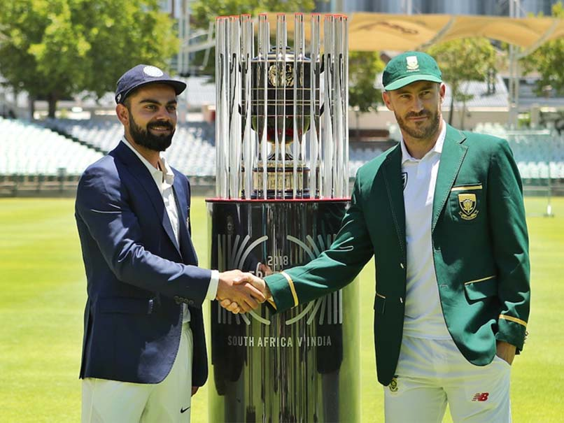 India vs South Africa: Virat Kohli, Faf Du Plessis Unveil Freedom Series Trophy Ahead Of First Test