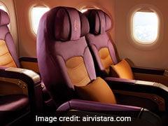 Vistara Extends Sale, Offers Flight Tickets From Rs 1,099