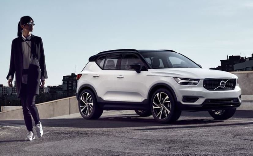 The new Volvo XC40 is the first car from Volvo to be built on the new CMA platform