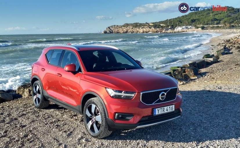 The Volvo XC40 EV will manufactured at Volvo's US plant in South Carolina