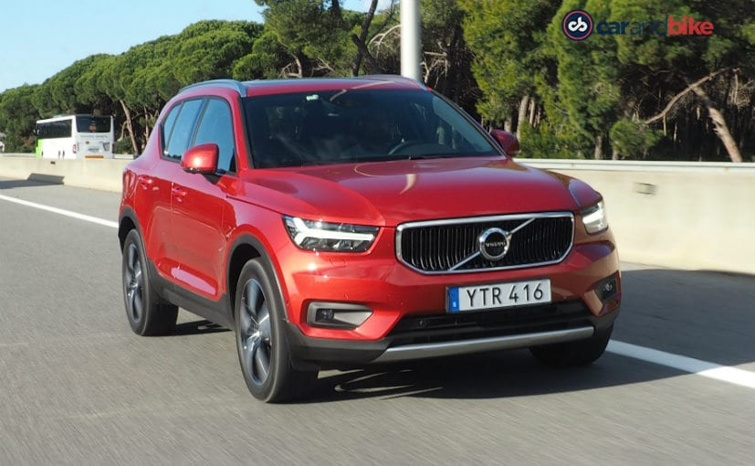 volvo xc40 first drive review - ndtv carandbike