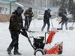Hundreds Of Flights Cancelled As Second Winter Storm Hits United States