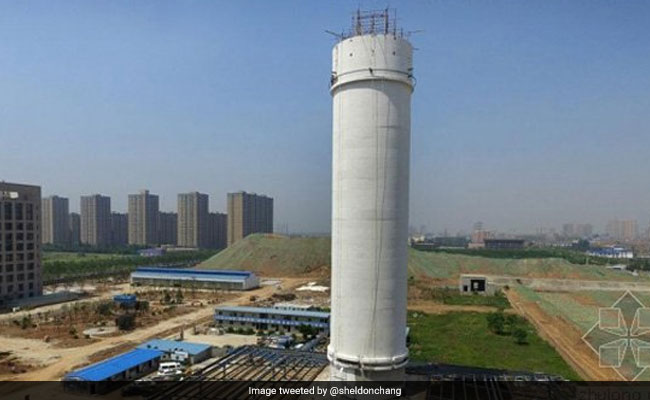 world biggest air purifier