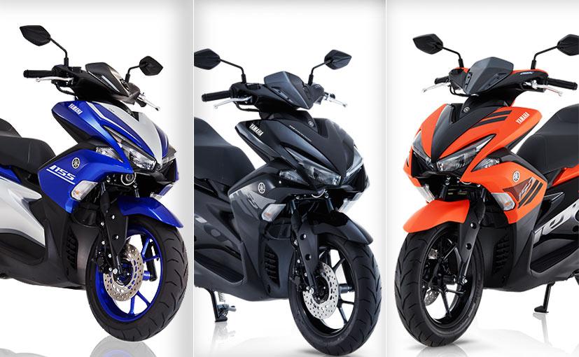 Yamaha Aerox 155 Price, Images, Colours, Mileage, Specs