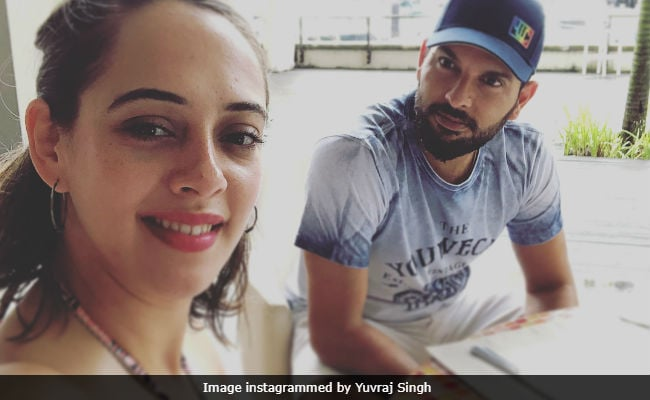Hazel Keech And Yuvraj Singh Hilariously Troll Each Other Over 'Sexier Selfie'
