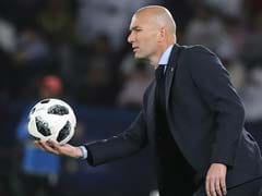 We Are Never Tired Of Winning, Says Real Madrid Coach Zinedine Zidane