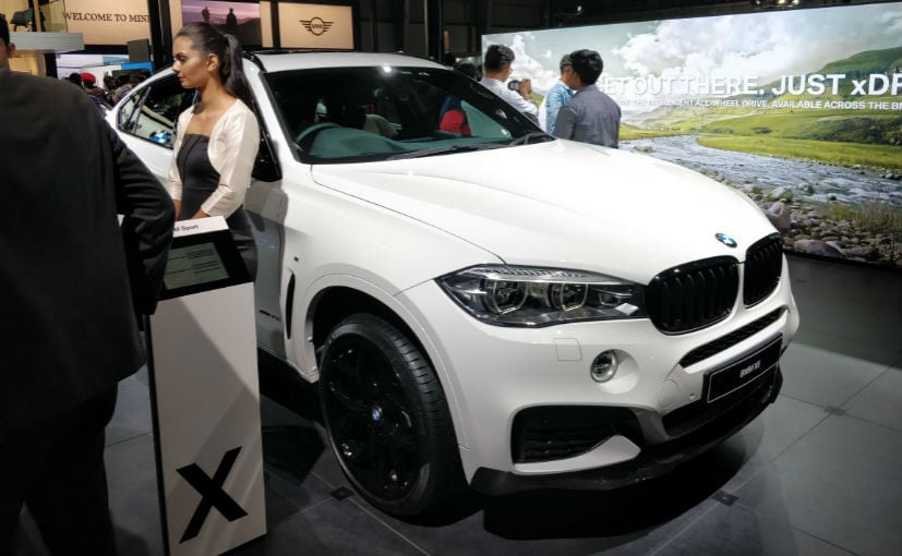 Auto Expo 2018: BMW X6 35i M Sport Launched; Priced At ₹ 94.15 Lakh
