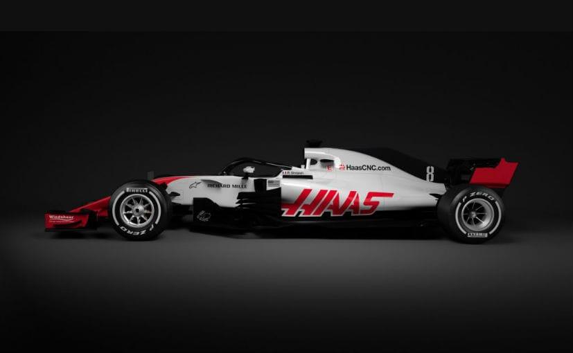 2018 haas vf 18 f1 car
