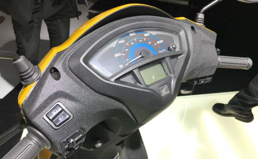 2018 honda activa 5g instrument console