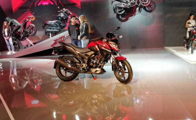 The Honda X-Blade shares its underpinnings with the CB Hornet 160R