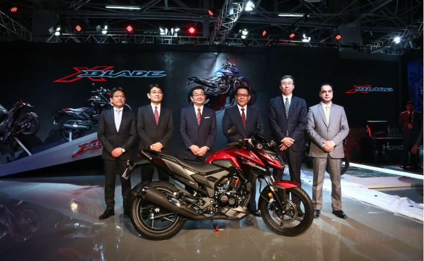 Auto Expo 2018: Honda X-Blade Motorcycle Unveiled