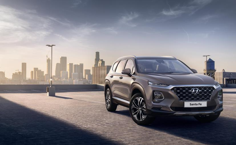 The new Hyundai Santa Fe will debut in South Korea first and later at Geneva