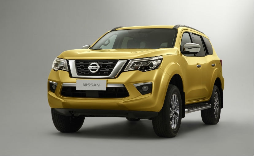 The Nissan Terra is ready for the 2018 Beijing Motor Show