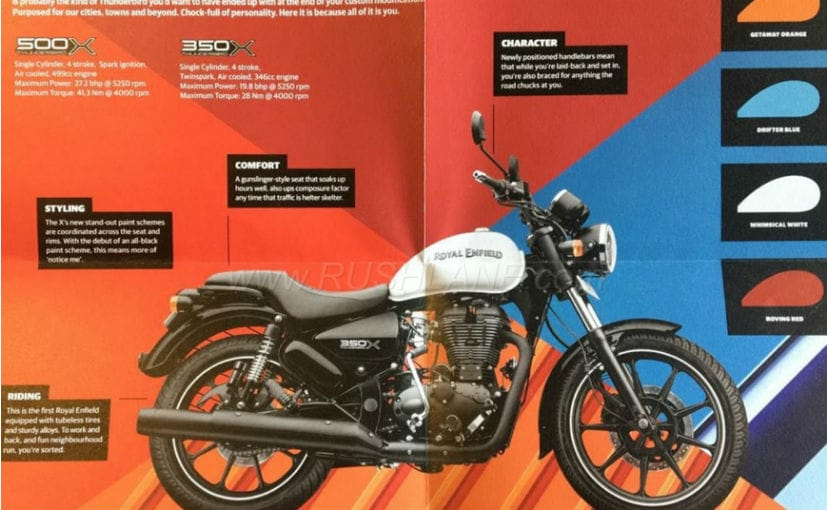 Royal Enfield Thunderbird 350X And 500X Launch Highlights: Prices, Images, Specifications, Features