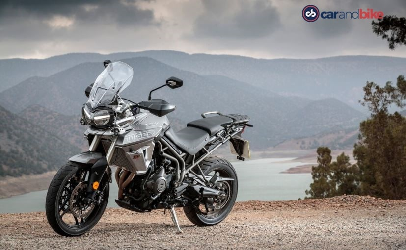 2018 triumph tiger 800 xrt is more road oriented
