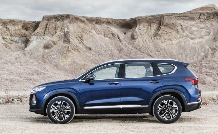 2019 hyundai santa fe 5 seater and 7 seater