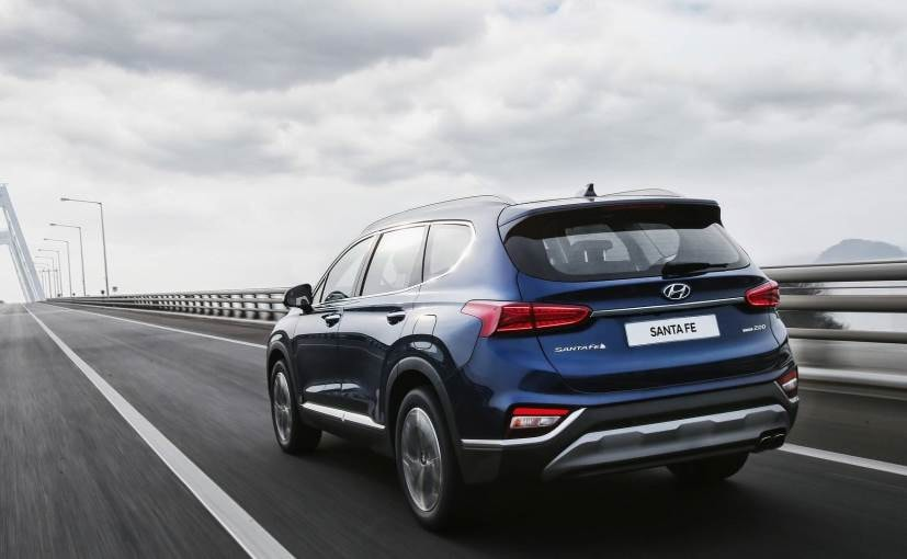 2019 hyundai santa fe engines