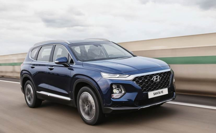 2019 hyundai santa fe new styling and design
