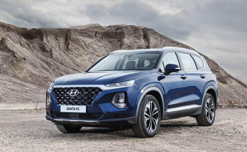 2019 Hyundai Santa Fe Unveiled Gets A 7 Seater Variant With Diesel
