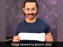 Tagged By Twinkle Khanna, Aamir Khan Poses With Sanitary Pad In '<i>PadMan</i> Challenge'