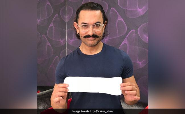 आमिर खान ने 'पैडमैन चैलेंज' किया स्वीकार, अब सलमान-शाहरुख और बिग बी को दी चुनौती
