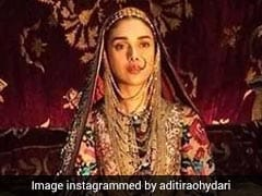 """<I>Padmaavat</i>"": Aditi Rao Hydari Says Playing Mehrunisa Was 'Special And Beautiful'"