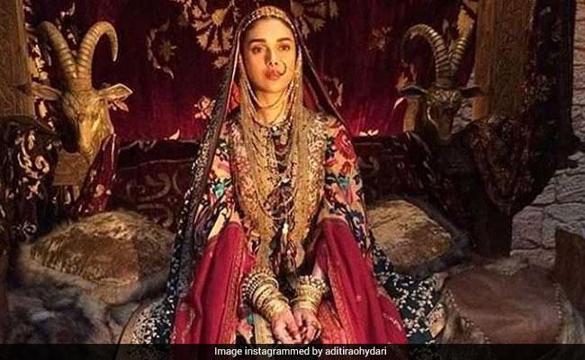 'Padmaavat': Aditi Rao Hydari Says Playing Mehrunisa Was 'Special And Beautiful'