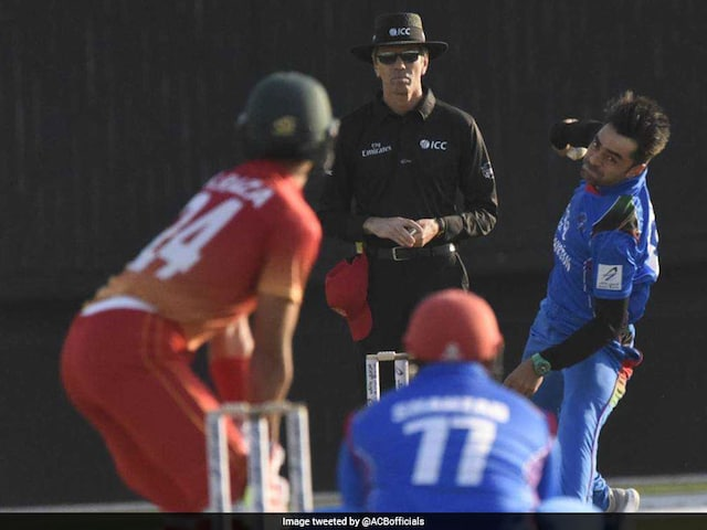 Afghanistan, Zimbabwe Post Identical Scores To Register Similar Wins Over Each Other