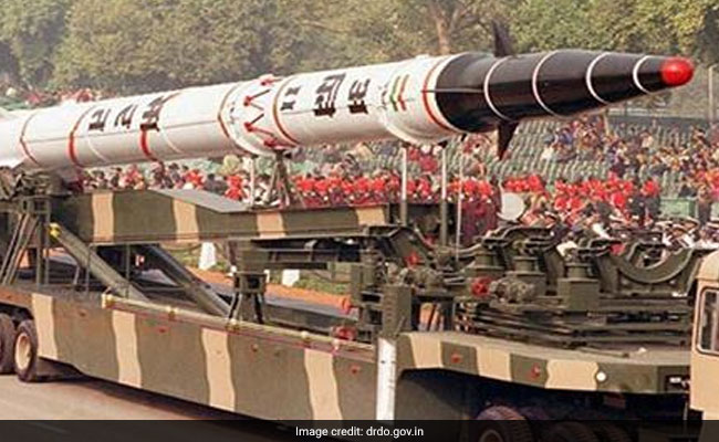 India Test Fires Ballistic Missile Agni II Off Odisha Coast