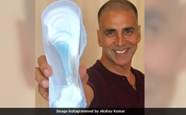 PadMan Star Akshay Kumar Says He Was Told On Social Media 'Holding Sanitary Pad Is A Sin'