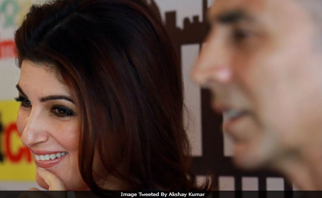 PadMan Akshay Kumar Thanks 'Superwoman' Twinkle Khanna. We're Not Crying, You're Crying