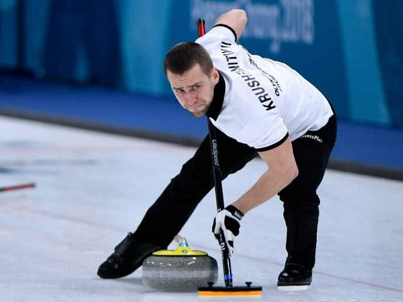 Winter Olympics Reels As Clean Russian Curler Hit By Doping Case
