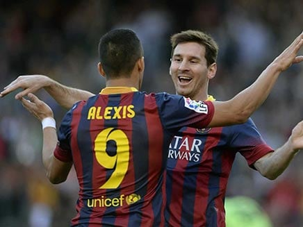 Alexis Sanchez Says He Has Seen Lionel Messi Cry After A Match