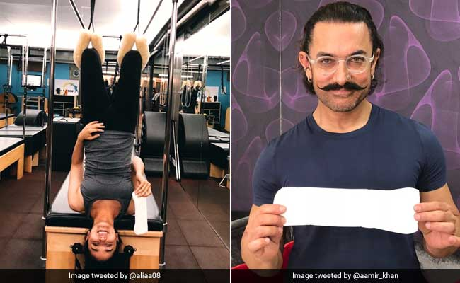 From Alia Bhatt To Aamir Khan, It's Heartening To See Celebs Take On The <i>PadMan</i> Challenge
