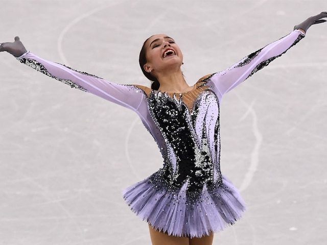 Winter Olympics: Alina Zagitova, 15, Smashes Skate Record As Lindsey Vonn Gets Bronze