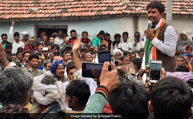 Alpesh Thakore Sets Tone, Congress Scales Up Protests In Gujarat Assembly