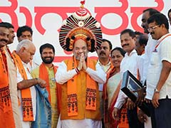 Amit Shah Heckled By Dalit Protestors In Mysuru. What's At Stake For BJP
