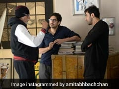 <I>Brahmastra</i> Co-Stars Amitabh Bachchan And Ranbir Kapoor Are At Work. See Big B's Post