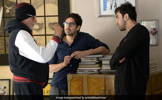 Brahmastra Co-Stars Amitabh Bachchan And Ranbir Kapoor Are At Work. See Big B's Post