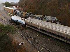 अमेरिका में ट्रेन दुर्घटना में एमट्रैक के दो कर्मियों की मौत, 116 घायल