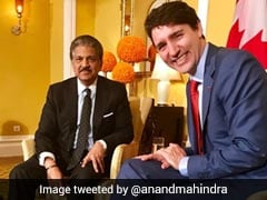 Anand Mahindra Tweets About 'Dismal Wardrobe Failure' After Meeting Justin Trudeau