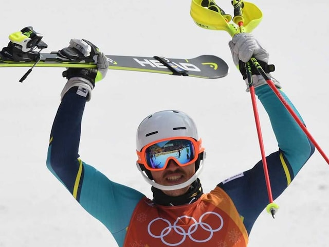 Winter Olympics: Swedens Andre Myhrer Wins Shock Olympic Mens Slalom